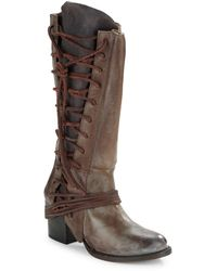 Freebird by Steven - Cash Lace-up Boots - Lyst