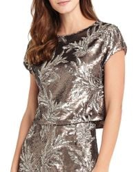 Phase Eight - Patientia Sequined Top - Lyst
