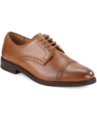 Polo Ralph Lauren - Morgfield Wing-tip Leather Oxfords - Lyst