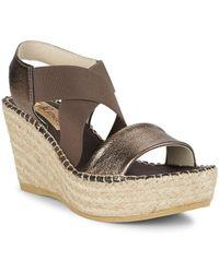 Vidorreta - Sybil Wedge Sandals - Lyst