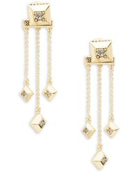 House of Harlow 1960 - Lyra Stone-accented Drop Earrings - Lyst