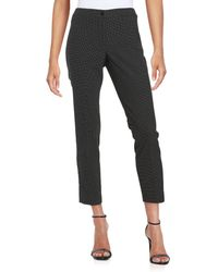 Karl Lagerfeld - Pin-dot Tapered Pants - Lyst