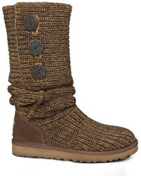 UGG - Classic Cardy Boots - Lyst