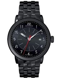 88 Rue Du Rhone - Mens Double 8 Origin Black Steel Watch - Lyst
