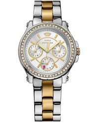 Juicy Couture - Ladies Two-tone Crystallized Pedigree Watch - Lyst