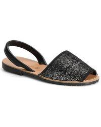 Carmen Marc Valvo - Honor Leather Sandals - Lyst