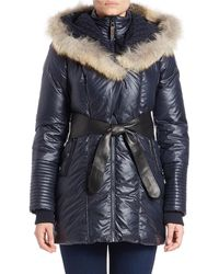 Rudsak - Sophie Quilted Fur and Down Hooded Coat - Lyst