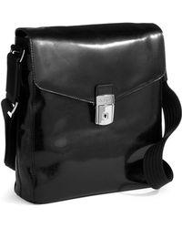 Bosca - Leather Carrier Bag - Lyst