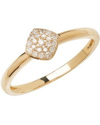 Lord & Taylor - 14kt Yellow Gold And Diamond Ring - Lyst