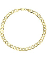 Lord & Taylor - 14k Yellow Gold Mens Bracelet - Lyst