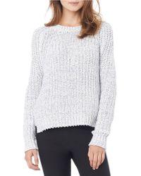 Sam Edelman - Basket Stitched Pullover - Lyst