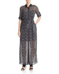 Shirtdress - Printed - Lyst