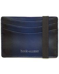Hook + Albert | Gradient Leather Card Case | Lyst