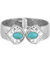 The Sak - Stone Hinge Cuff Bracelet - Lyst