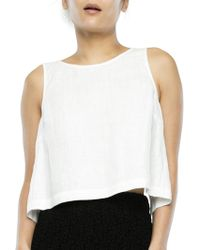 Svilu - Tie-back Shell Top - Lyst