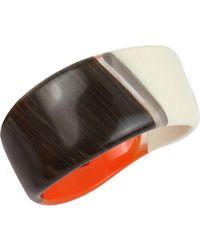 Robert Lee Morris - Primal Connection Colorblock Sculptural Bangle Bracelet - Lyst