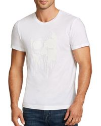 William Rast - Skull Of Drips Graphic Cotton Tee - Lyst