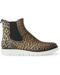 Liebeskind - Animal-inspired Chelsea Boots - Lyst