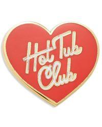 Ban.do - Hot Tub Heart Pin - Lyst
