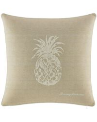 Tommy Bahama - Canvas Stripe Bedding Pineapple 20-inch Square Pillow - Lyst