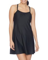 Next By Athena - Shirr Coverup - Lyst