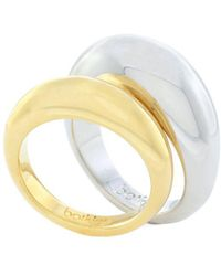Botkier - Two-tone Ring Set - Lyst