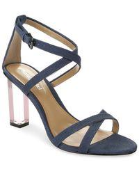 Luxury Rebel - Driscoll Lucite High Heel Dress Sandals - Lyst