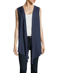 Two By Vince Camuto - Knit Flyaway Vest - Lyst