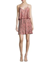 Lord & Taylor - Pleated Floral Dress - Lyst