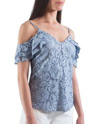 The Vanity Room - Floral Lace Camisole - Lyst