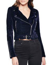 Bardot - Scarlet Biker Jacket - Lyst