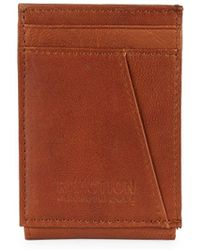 Kenneth Cole Reaction - Leather Credit Card Case - Lyst