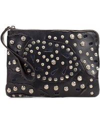 Patricia Nash - Cassini Leather Wristlet Clutch Bag  - Lyst