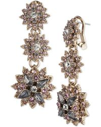 Marchesa - Linear Drop Earrings - Lyst