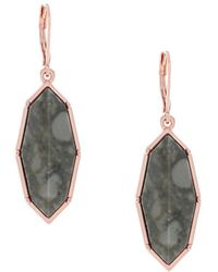 Jessica Simpson - Leverback Dangle And Drop Earrings - Lyst