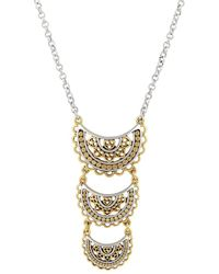 Lucky Brand - Lost And Found Open Work Enhancers & Charms Necklace - Lyst