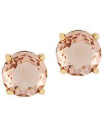 Jessica Simpson - Crystal Post Back Stud Earrings - Lyst