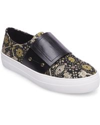 Lord & Taylor - Sari Textile Sneakers - Lyst
