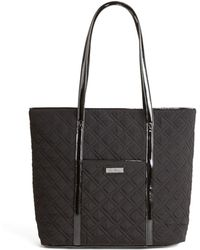 Vera Bradley - Vera Trimmed Quilted Small Tote - Lyst