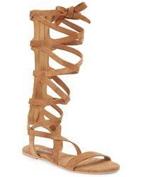 Matisse - Zepher Suede Gladiator Sandals - Lyst