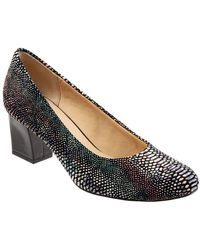 Trotters - Candela Leather Court Shoes - Lyst