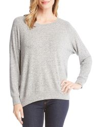 Karen Kane - Embellished Heathered Jumper - Lyst