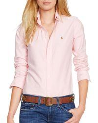 Polo Ralph Lauren - Custom Fit Oxford Shirt - Lyst