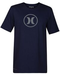 Hurley - Circle Icon Dri-fit Tee - Lyst