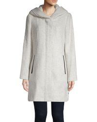 Cole Haan - Long-sleeve Textured Jacket - Lyst
