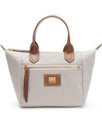 Frye - Ivy Nylon Small Satchel Handbag - Lyst