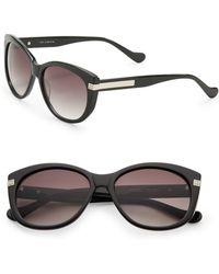 Ivanka Trump - 56mm Catseye Square Sunglasses - Lyst