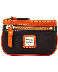 Dooney & Bourke - Pebbled Leather Small Coin Case - Lyst
