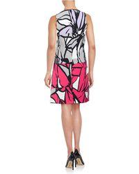 Ellen Tracy - Floral Popover Dress - Lyst