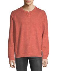 Tommy Bahama - Flipsider Split Neck Reversible Sweatshirt - Lyst